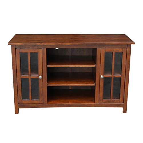 International Concepts Entertainment/TV Stand with 2-Door, 48-Inch, Espresso