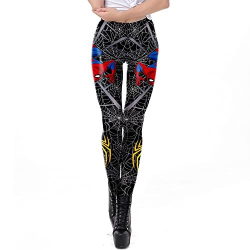 ZYZQ Spiderman Leggings Femmes Fitness Yoga Collants en...