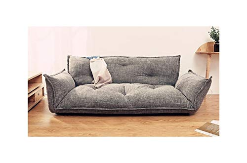 ZYSTMCQZ Sofá Cama de Piso 5 Posición Ajustable Sofá Lazy Muebles Sala de Estar Reclinable Sofá Plegable Sofá