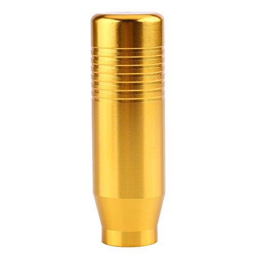 Akozon Universal Auto Schaltknüppel Aluminiumlegierungs,Automatischer Messergriff Hebel Schalthebel Truck Racing Schaltknauf Stick(Durchmesser jeweils 8mm, 10mm, 12mm) (Gold)