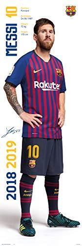 Türposter FC Barcelona 2018/2019 Messi.