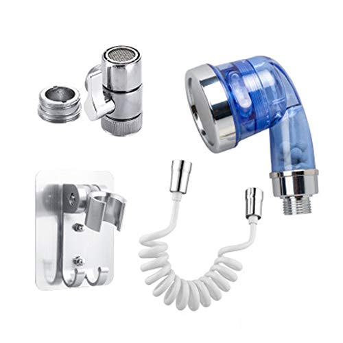 Jiamins universal popular lavado cara lavabo agua grifo externo ducha boquilla flexible rociador kit