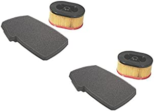 (2) New AIR FILTER SET / KIT Partner K650 / K700 Active II & III Concrete Saws by The ROP Shop
