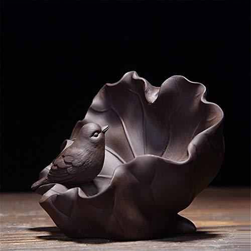 CCDZ Bird Statue Handicraft Topes de Incienso Retrofe Incensio Incensario Cascada Aromaterapia Censora Zen Decoración del hogar 2.19
