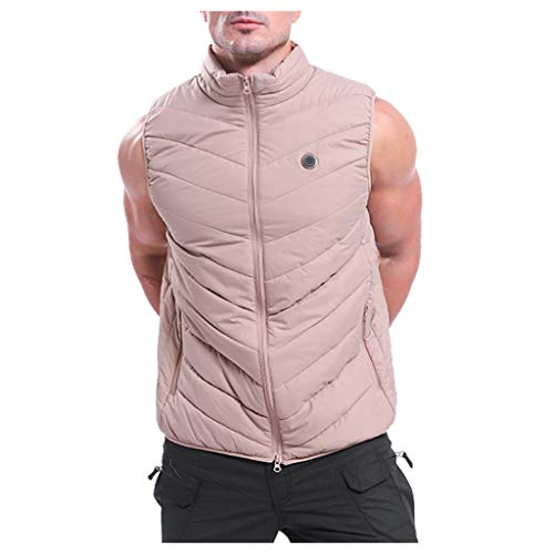 Komise Winter Herren Smart USB Electric Heating Warm Down Jacket