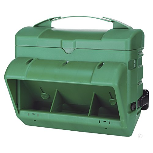 Premier 1 Supplies Wise Cage Poultry Feeder - 10 lb (Green)