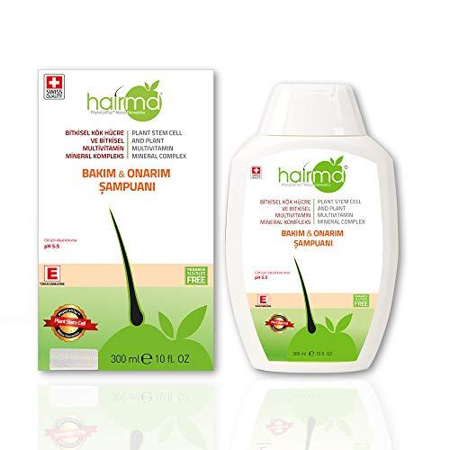 HairMD - Hair Repair Shampoo - Pharmacy Series - Prevent Hair Loss & Promote New Hair Growth - Collagen, Keratin, Provitamin B5 & More! - For All Hair Types - Shampoo 300 ml