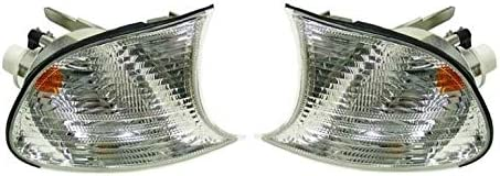 Left Cheap mail order specialty store Right Front Genuine Turn Signal White Light Lens BMW For Max 65% OFF