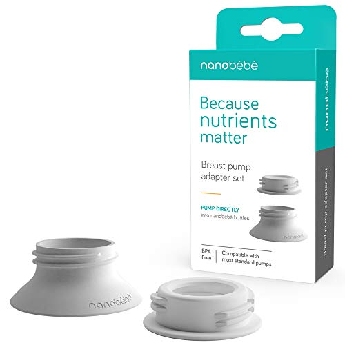 nanobebe Breast Pump Adapter Set