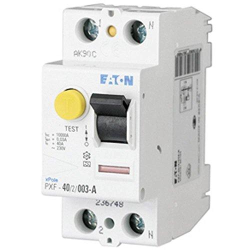 Eaton 236748 FI-Schalter, 40A, 2P, 30Ma, Typ A