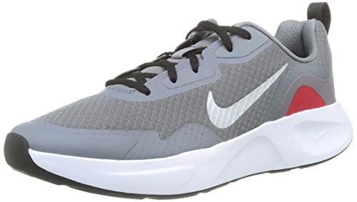 Nike Herren WEARALLDAY Laufschuh, Smoke Grey MTLC Cool Grey Black Univ Red, 39 EU thumbnail