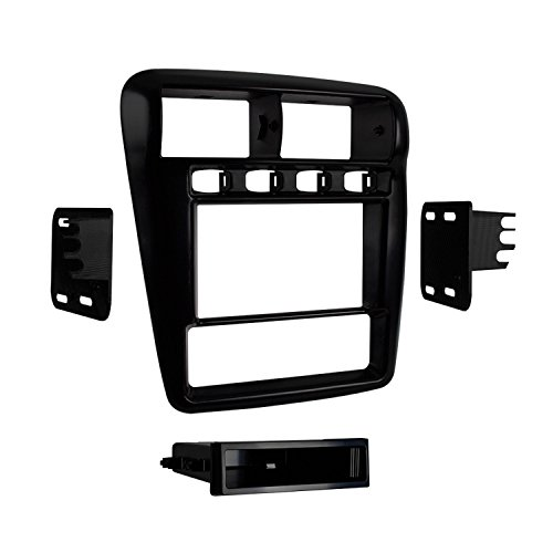 Metra 99-3311B Single/Double DIN Dash Installation Kit for Select 1997-2002 Chevrolet Camaro (Black)