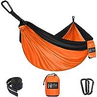 Hieha Camping Single Parachute Hammock (Orange)