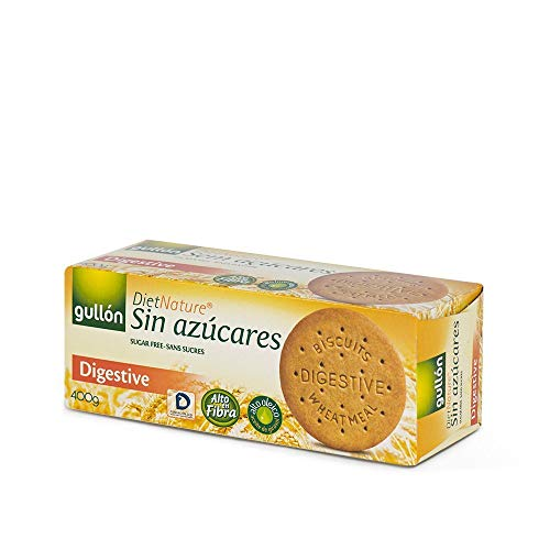 Gullón - Galleta sin azúcar Digestive Diet Nature 400g