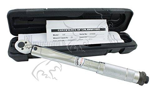 LLAVE DINAMOMÉTRICA DE 2 a 24 Nm 1/4 con certificado de calibración