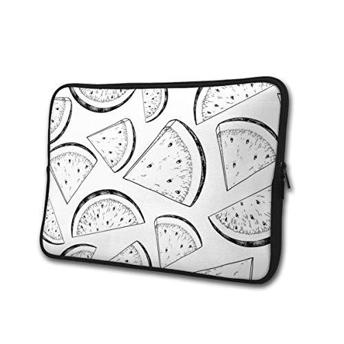 Wassermelonen-Schnittmuster Laptop-Hülle Fall Tasche Aktentasche Bussiness Handtasche