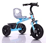 Plug and play wheels: plug and play wheels, chrome finishing of the wheels makes it loved by baby and parents. Even it is great to use inside home A 5 mins installation: erangel is designed to help parents which makes assembly of tricycle so simple t...