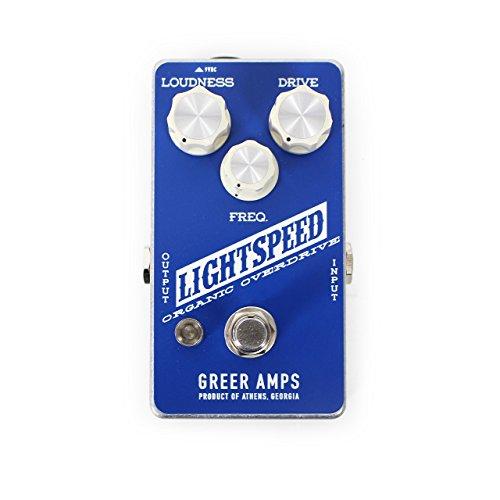 Greer Amplification Lightspeed Organic Overdrive Guitar Pedal