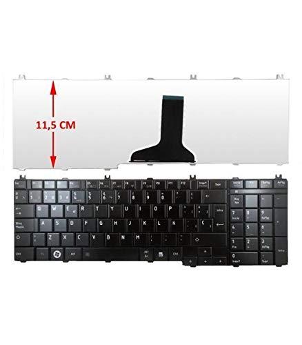 Portatilmovil Laptop Keyboard for Toshiba Satellite C650 C660
