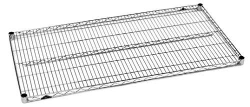 Metro 2460BR Super Erecta Brite Steel Industrial Wire Shelf, 600 lb. Capacity, 1