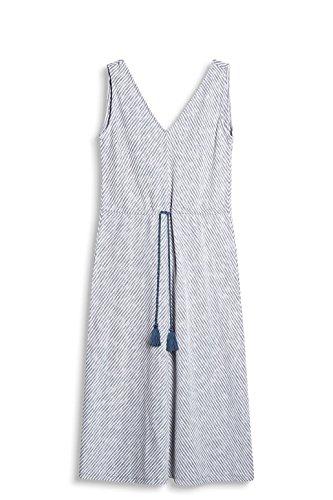 edc by ESPRIT Damen Kleid 057CC1E004, Blau (Blue 430), 42 (Herstellergröße: XL)