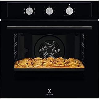 Horno eléctrico ventilado multifunción, 589 x 569 x 594 mm, color negro