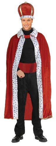Men's King Robe and Crown Set for Freddie Mercury Costume