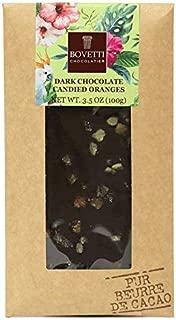 Bovetti Dark Chocolate Bar - Candied Orange, 100g (15-PACK) Wholesale