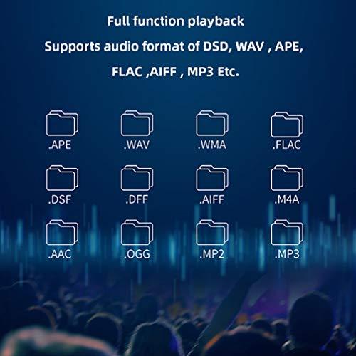 S.M.S.LDP5ミュージックプレーヤーES9038PROMQA32ビット/384kHzDSD256Bluetooth4.0オーディオフォーマットプレーヤーをサポートハイファイネットワークミュージックプレーヤー