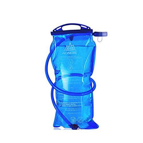 lzndeal Poche à Eau d'hydratation Bouteille d'eau Sac 1L / 1.5L / 2L / 3L - Hydratation Camelback Tactique Sac à Dos Sac d'eau pour Camping Randonnée en Plein air Gourde Sport