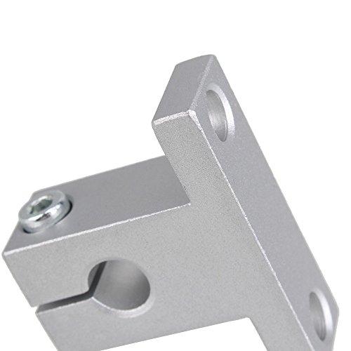 2mm Horizontal Lead Screw 300mm Pillow Block Bearings Flexible Shaft Coupling