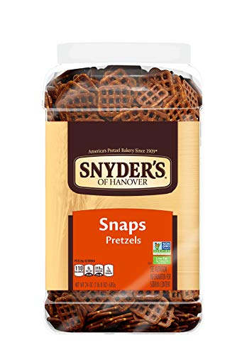 Snyder's of Hanover Pretzel Snaps, 24 Oz Canister