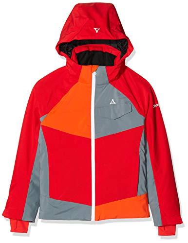 Schöffel Jungen Jacket Tours3, Wasser-und Winddichte Ski und Outdoor Jacke, Winterjacke, Hochwertige Skijacke mit Schneefang, Robuste Regenjacke, racing red, 152 (L)
