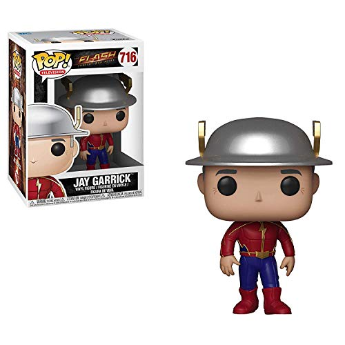 Funko Pop Television: The Flash - Jay Garrick Collectible Figure, Multicolor