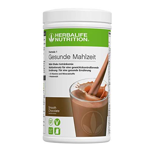 HERBALIFE NUTRITION Boisson Protéinée Substitut de Repas F1, Saveur Chocolat gourmand 550g