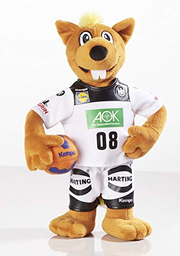 Trigon Stofftier Hanniball 28 cm, Maskottchen der Handball WM, Kuscheltier Plüschtier Hannibal