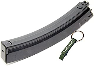 WE 30rds Gas Airsoft Gas Magazine For APACHE MP5 MP5K MP5A2 GBB SMG Classic -Mobile Ring Included