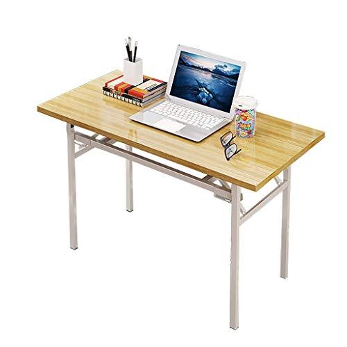 QNN Escritorio, Mesa Plegable, Mesa de Conferencias de Oficina Escritorio para el...