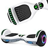EPCTEK Hoverboard for Kids with Bluetooth Speaker, 6.5' Two Wheel Electric Hover...