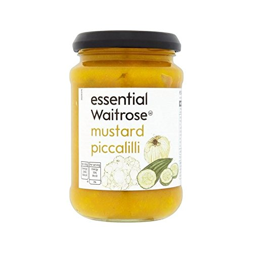 Senf Piccalilli Wesentliche Waitrose 275G - Packung mit 2