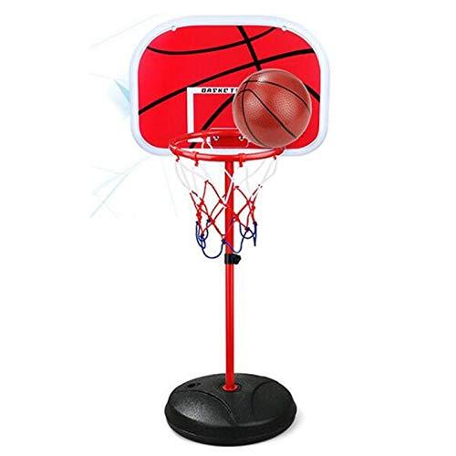 YLJR Soporte de baloncesto para tablero de baloncesto para niños, ajustable, de malla para baloncesto, para exteriores