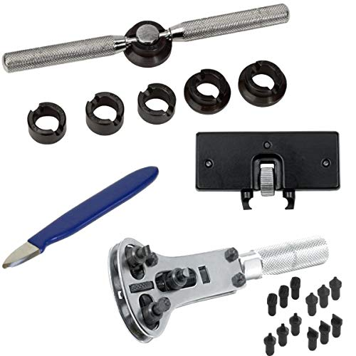 4x Llaves para abrir relojes S1 DELUXE PRIME - Set para relojeros - 4 artículos, un precio