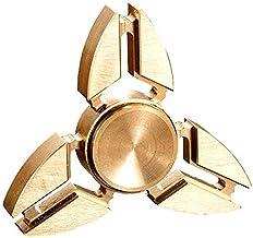 لعبة فيدجيت سبينير ال ايي دي بتصميم اطراف ثلاثية من هابي تويز، ذهبي