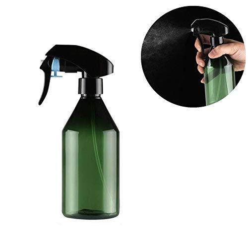 TUANTALL Vaporisateur Plante Vaporisateur Spray Bouteille d'eau De Coiffure De Nettoyage Pulvérisateur à Gâchette Vide Rechargeable Green