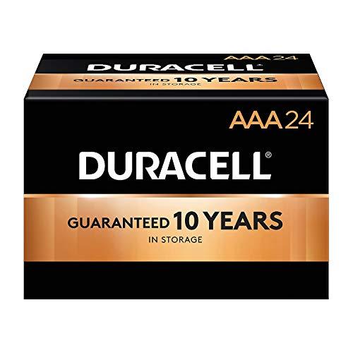 Duracell Coppertop AAA Alkaline Batteries,