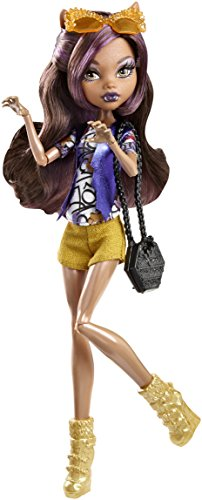 Monster High Boo York Frightseers Clawdeen Wolf Puppe