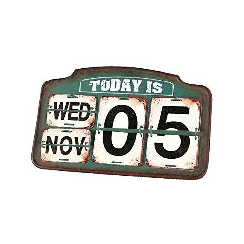 [DULTON]ダルトン Iron calendar S455-179 アイアン 日めくりカレンダー