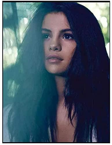 JCYMC Rompecabezas De 1000 Piezas Imagen De Ensamblaje De Madera Actriz Estrella Selena Gomez Póster Juegos para Adultos Juguetes Educativos Vq37Zw