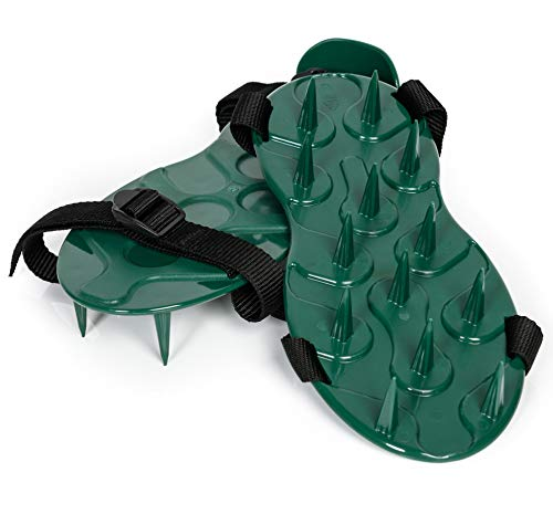 Lawn Spike Aerator Shoes/Sandals.British designed and manufactured for maximum...