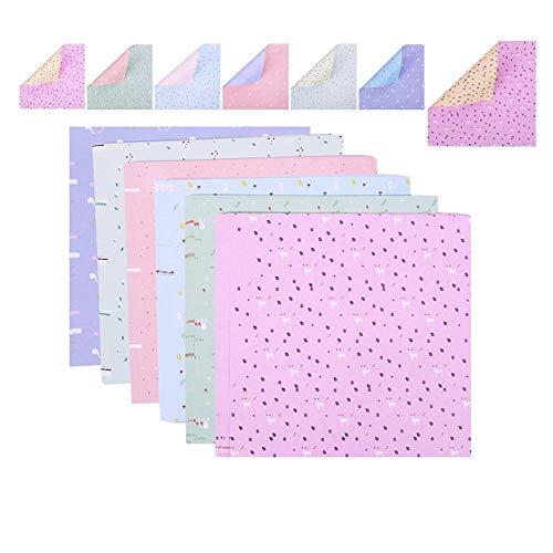 Origami/Diferentes de dos caras Papel hecho a mano/cuadrado / 15 cm * 15 cm Tutorial de entrega-300 poca humor
